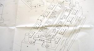 CAD-Zeichnung, Konstruktion, Quelle: Bierlein und Schwarz GmbH & Co. KG